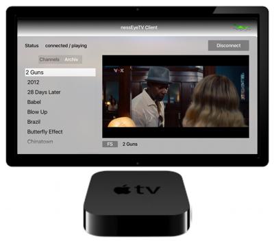 finessTV - Blog: Client for AppleTV 1 1 available for